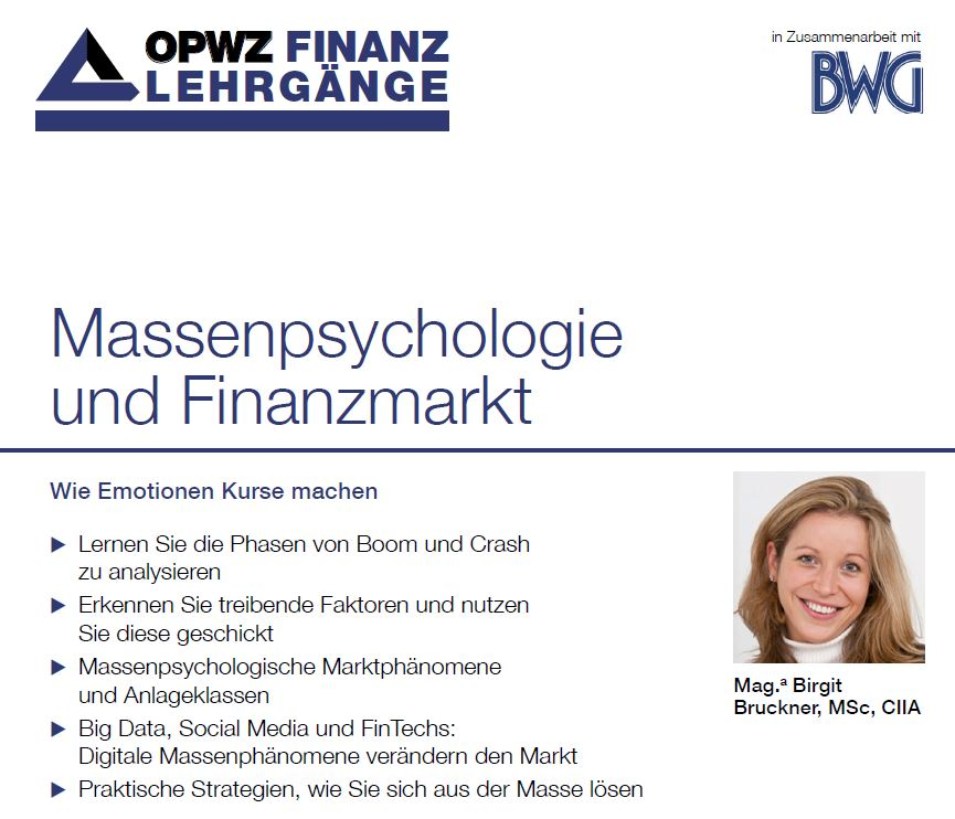 Massenpsychologie und Finanzmarkt